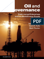 Oil and Governance State-owned Enterprises and the World Energy Supply