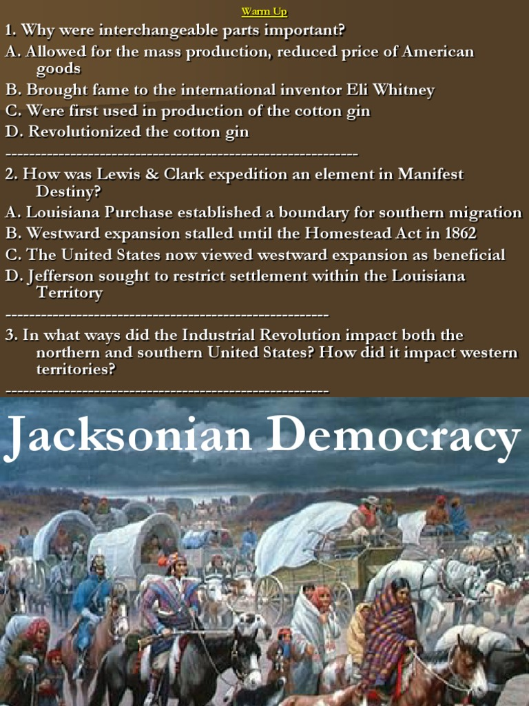 what was the impact of jacksonian democracy