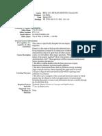 UT Dallas Syllabus for biol1318.001.07s taught by Lee Bulla (bulla)