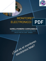 Monitoreo Electronico Fetal Hco