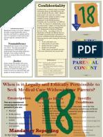 minor healthcare brochure pdf
