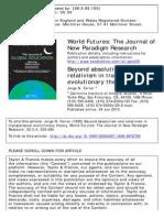 Ferrer - Transpersonal Evolutionary Theory