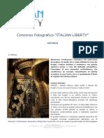 Vincitori del 2° Concorso Fotografico ITALIAN LIBERTY