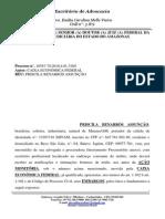 Embargos a Ação Monitoria - Fies - Priscila Benarrós Assunção