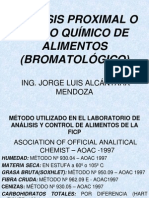 Teoría de Analisis Bromatologico