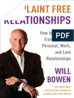 Complaint Free Relationships by Will Bowen - Excerpt