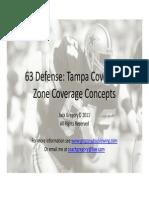 63 Defense Tampa Cover 2 Zone Coverage Conceptsx