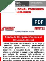1 Exposicion Foncodes Udh Huanuco