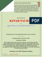 Kitab Tauhid Karya Syaikh Muhammad Bin Abdul Wahab