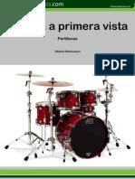 Aprenda gratis BATERIA con partitura