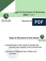 BM011!3!1 LEB S1 Sources.of.Law