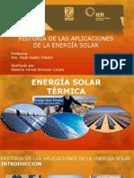 Solar Térmica I_Historia de Los Dispositivos a Energía Solar