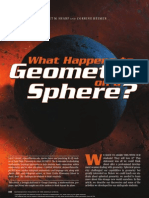 geometry on sphere