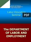 Labor Education Seminar