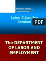 Labor Education Seminar