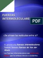 Fuerzas Intermoleculares y Propiedades 2011