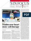 Doubts Over Heart Stem Cell Therapy