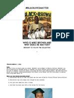 BlackLivesMatter Printable Booklet