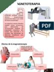 aplicacion de magnetoterapia