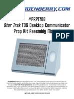 PRP1788-ToS Desktop Communicator Prop Assembly