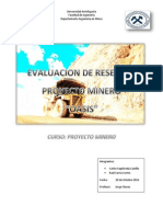 diseño mina y procesos unitarios