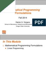 02 - Math Prog Formulations LP