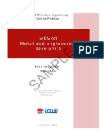 MEM05 Metal and Engineering Core Units - Learner Guide