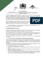 Projet de Loi Bancaire Maroc