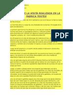 FABRICA TOSTEX DE TS.AS