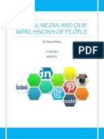social media and our impressions of people 1