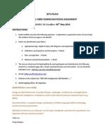 Bits Optical Fiber Comm Assignment 2014