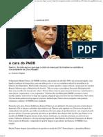 Perfil Michel Temer Revista Piauí