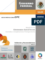 GPC Síndromes geriatricos
