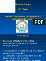 Machine Design UET, Taxila Lecture