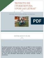 DIAPOSITIVAS PROYECTO LECTOESCRITURA.pptx