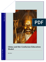 0Confucian Education Model Position Paper
