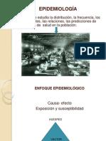 Epidemiología Primera Clase 2014