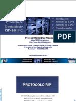 Protocolos RIP y OSPF