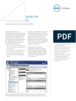Enterprise Reporter for Active Directory Datasheet 26612