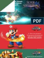 VSC Math Wii U Christmas Tournament