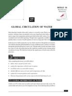 27_Global Circulation of Water