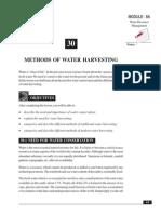30_Methods of Water Harvesting