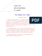 The Plimpton 322 Tablet .