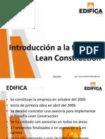 Introducción a La Filosofía Lean Construction