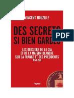 Des Secrets Si Bien Gardés Vincent Nouzille