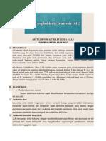 Akut Limfoblastik Leukemia