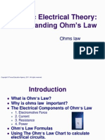 Basic Elec Ohms Law