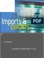 Major imports and exports of Pakistan