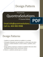 MVC Design Pattern PPT Presented by QuontraSolutions