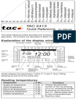 Tac 2413 Quick Reference 56377